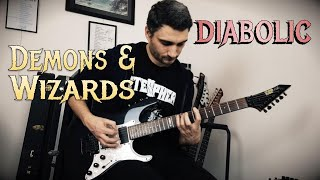 Demons & Wizards 'Diabolic' GUITAR COVER (NEW SONG 2019)
