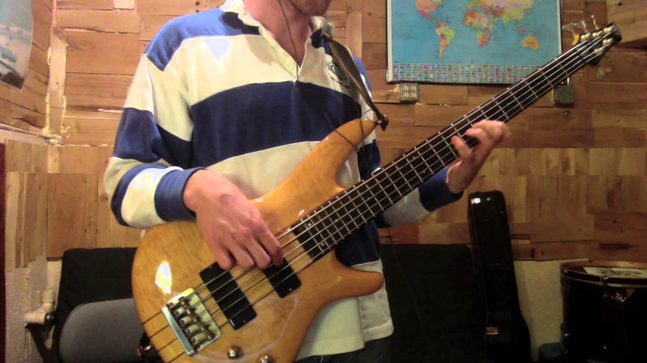 Flying Lotus Stonecutters Bass Cover Youtube