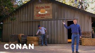 McClellan Farms Tofurkey  - CONAN on TBS