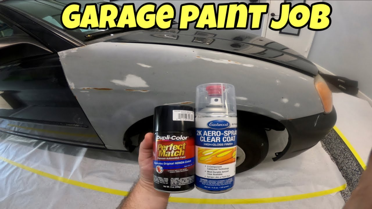 Painting your Car with Spray Paint!