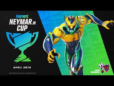FREE REWARDS!! NEYMAR JR CUP! (Fortnite Battle Royale)