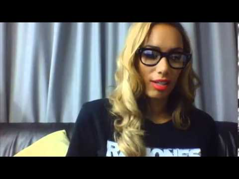 Leona Lewis UStream 15 November 2013