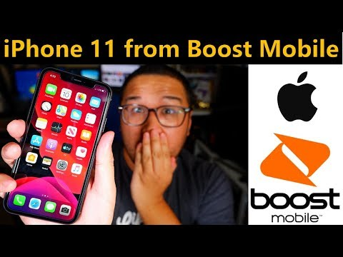 New Apple iPhone 11 from Boost Mobile