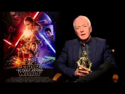 STAR WARS: THE FORCE AWAKENS - Interview with Anthony Daniels