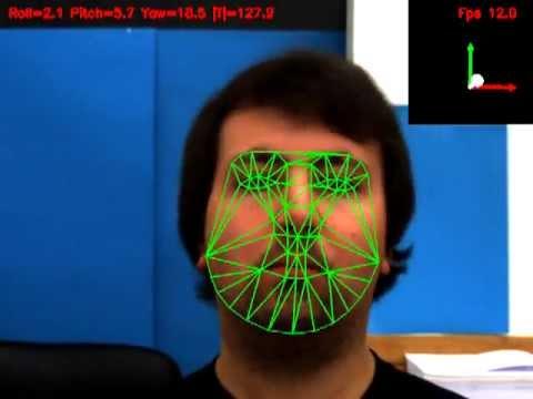 Accurate single viewmodel-based head pose estimation