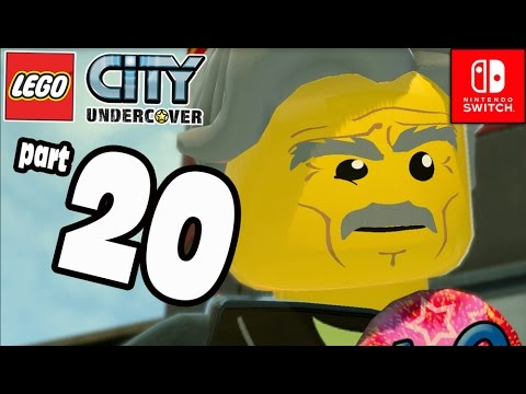 Lego City Undercover Part 20 DINO RIDERS Fireman POWER co-op (Nintendo Switch) Gameplay