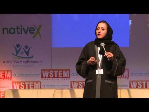 Mariyam Althani at the Women in STEM 2015