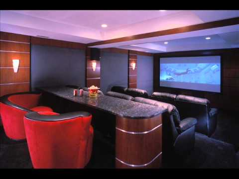 home theater decor home theater decor accessories youtube. Black Bedroom Furniture Sets. Home Design Ideas