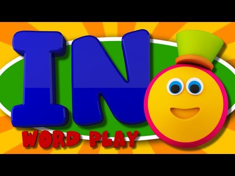 Learning Street With Bob The Train | IN Words | Word Play | Learning Videos By Kids Tv