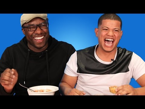Caribbean People Try Each Other's Desserts