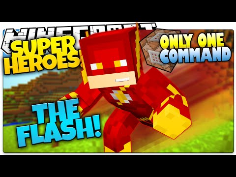 minecraft-|-how-to-be-a-superhero!-|-the-flash!-|-only-one-command-(one-command-creation)