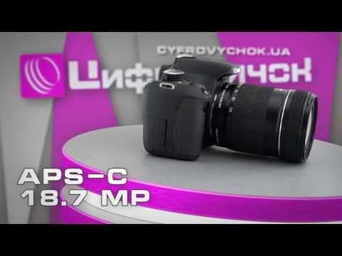 Видеообзор Canon EOS 600D