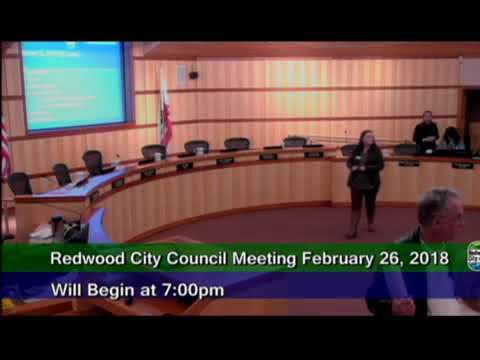 Redwood City - City Council 02.26.18