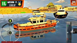 Coast Guard: Beach Rescue Team Update - RESCUE BOAT Missions Unlocked Android GamePlay FHD
