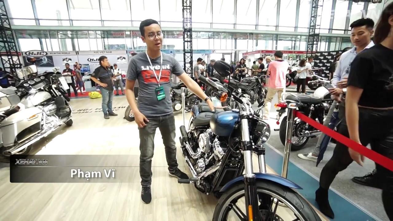 Xe mô tô 1,1 tỷ - Harley-Davidson Breakout bản kỉ niệm 115 năm |XEHAY.VN|
