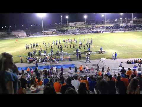 Ida Baker Marching Bulldogs @ Cape Coral High School 9/12/14