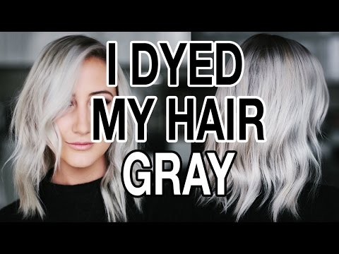 dying-my-hair-gray-/-silver-hair-q+a