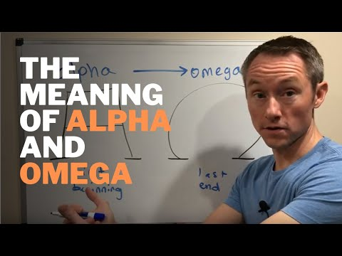 The Meaning Of The Alpha And Omega Symbols In The Bible