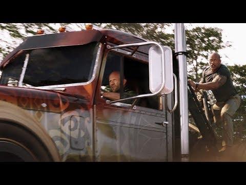 Погоня с вертолётом . Часть-1 \ Форсаж: Хоббс и Шоу Fast & Furious Presents: Hobbs & Shaw