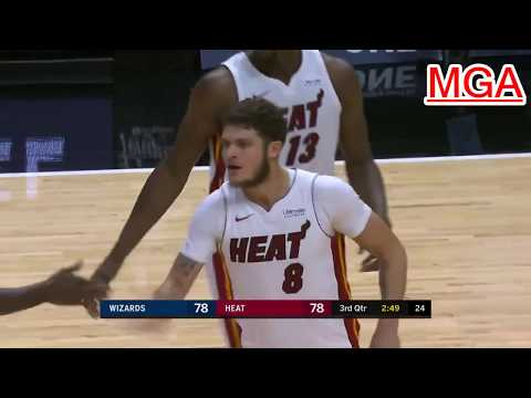 Washington Wizards vs Miami Heat - Full Game Highlights - 11/10/2017 - NBA Preseason