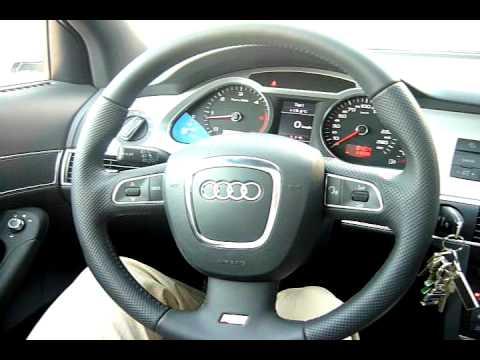 2010 Audi A6 3.0 TDI Avant Interior - YouTube