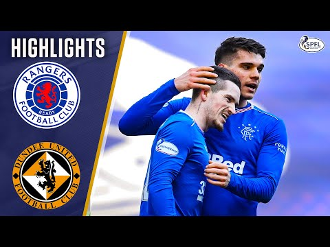 Rangers Dundee Utd Goals And Highlights