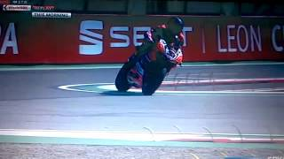 slowmotion Marco Melandri Aruba Ducati WSBK