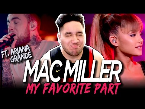Mac Miller - My Favorite Part feat. Ariana Grande (Live) REACTION!!!