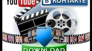 как скачать видео с youtube, ВКонтакте, Одноклассники(программа для скачивания http://www.lovivideo.ru., 2015-08-25T23:10:23.000Z)