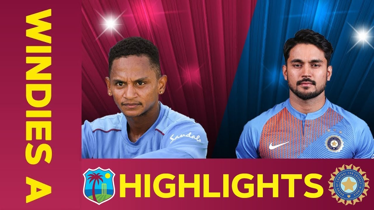 West Indies A vs India A - Match Highlights | 2nd ODI 2019 | India A Tour of West Indies