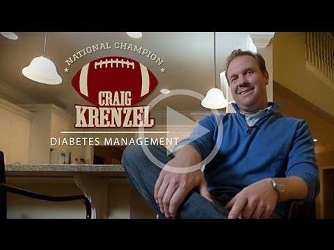 Craig Krenzel Talks About Diabetes Management