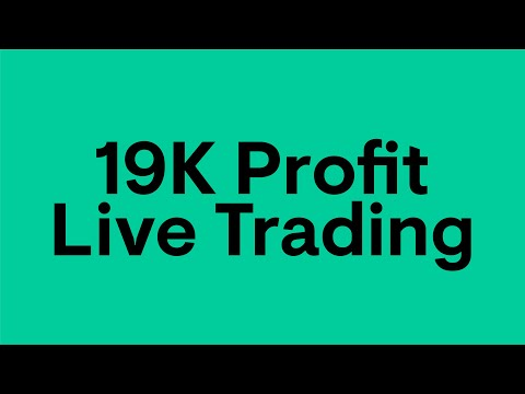 19k Profits using EzQuant's AlgoTrading Software--Live Intraday Trading--Alice Blue ANT WEB