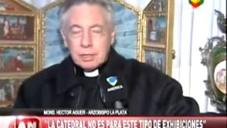 arzobispo de la plata y el video de la tigresa