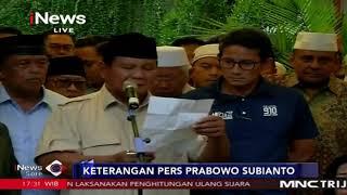 Deklarasi Kemenangan Prabowo Subianto sebagai Presiden RI 2019-2024 - iNews Sore 18/04