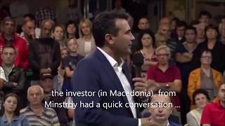 PrimeMinister #Zaev caught on camera promising money to people that vote on the #namechange