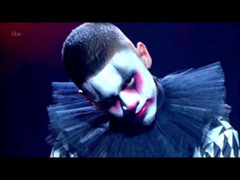 Thumbnail: TNG Clown Dancers SCARE the HELL Out of Simon | Semi-finals | Britain's Got Talent 2017