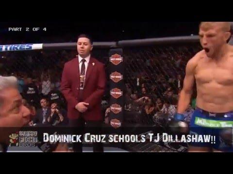 UFC Fight Breakdown: Dominick Cruz schools TJ Dillashaw! (Part 2 of 4)