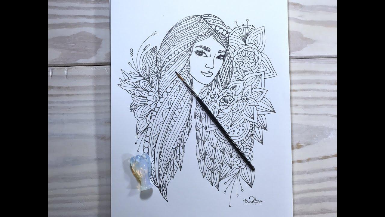 Art Face Designs Drawings