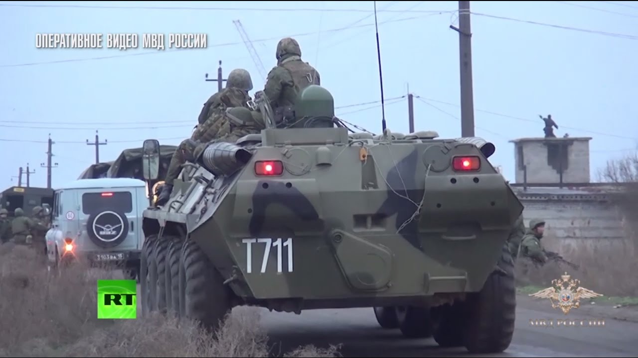 Ликвидация боевиков, напавших на Росгвардию в Астрахани