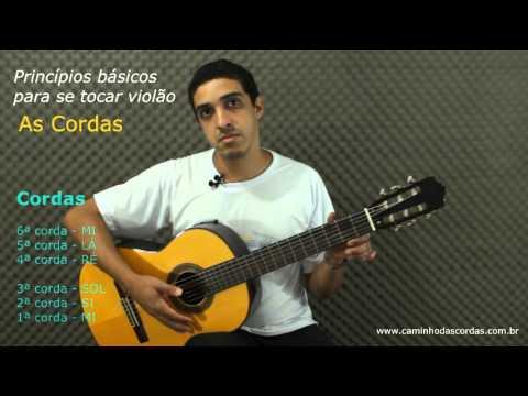 As cordas do violão -  3
