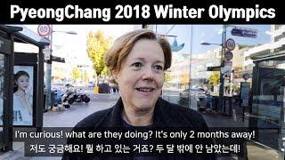 평창올림픽에 대한 외국인들의 솔직한 의견(People
