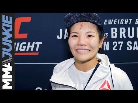 UFC on FOX 27: Ji Yeon Kim full post-fight interview