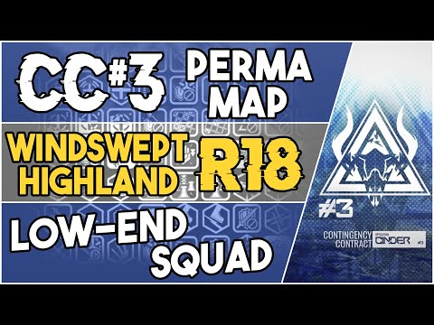 CC#3 Permanent Map - Windswept Highland Risk 18 | Low End Squad |【Arknights】