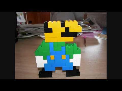 How to Make Lego Luigi - YouTube