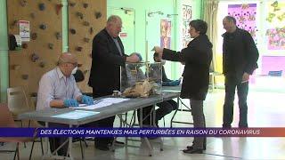 Yvelines | 1er tour des élections municipales à Montigny-le-Bretonneux
