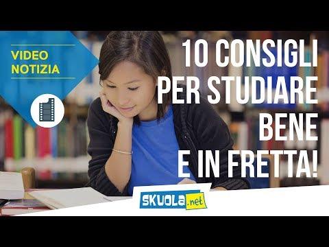 Metodo di studio: 10 consigli per migliorarlo