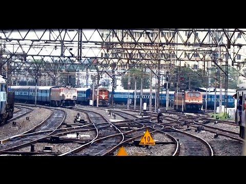 Epic PENTA parallel action departing from HOWRAH : Indian Railways