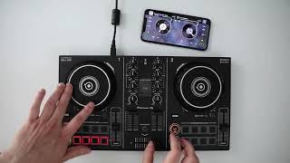 Pioneer DJ DDJ-200 with djay by Algoriddim ★ Wireless Scratch Session