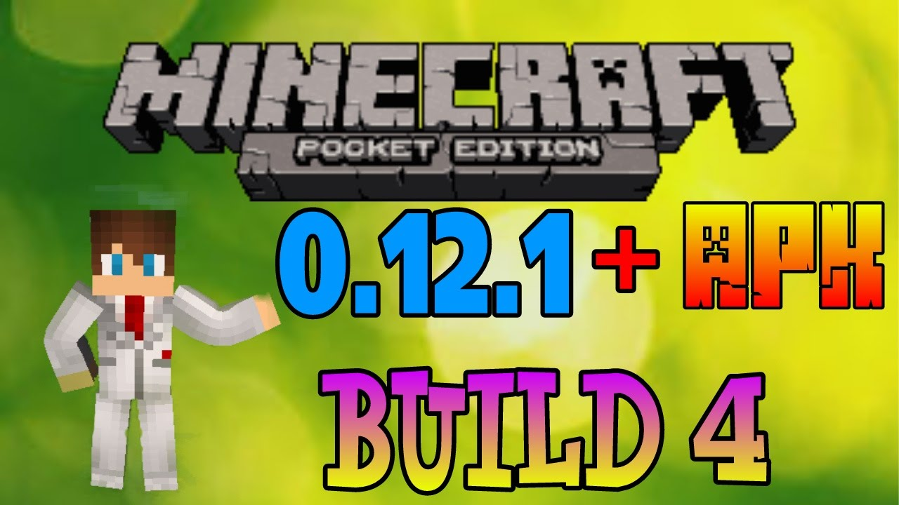 Minecraft 0.12.1 -Build 4- apk - YouTube
