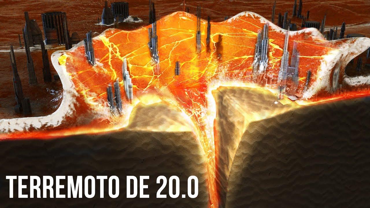 ¿Qué Ciudades Sobrevivirán Si Ocurre Un Terremoto De Magnitud 20.0?